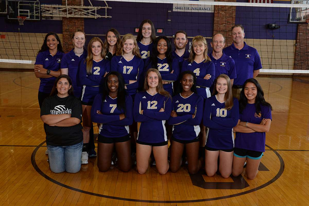 Volleyball Team Photo
