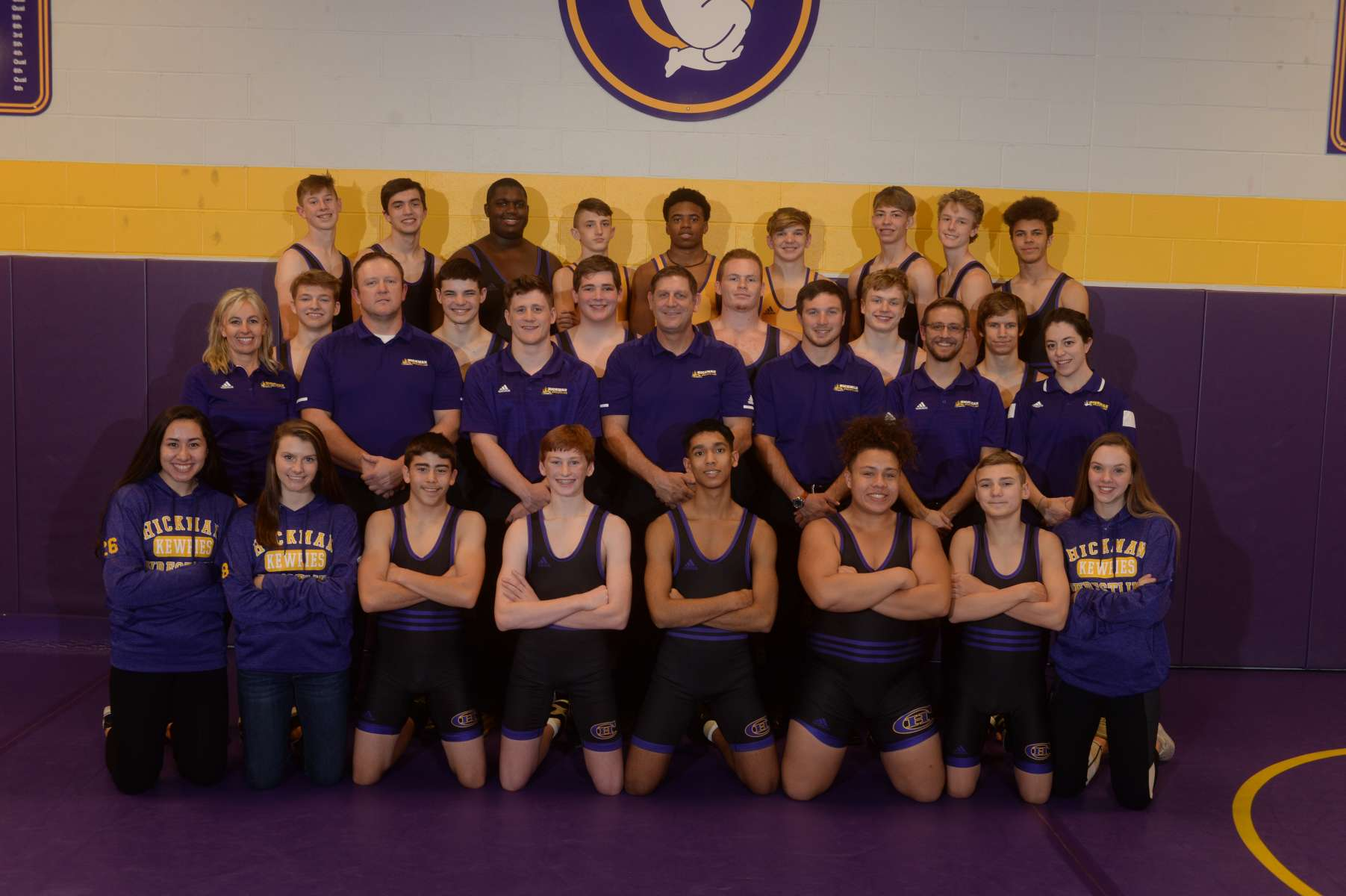 Boys Wrestling Team Photo