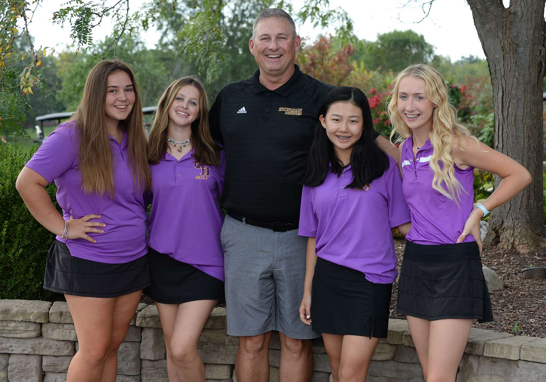 Girls Golf 2021-22 Team Photo